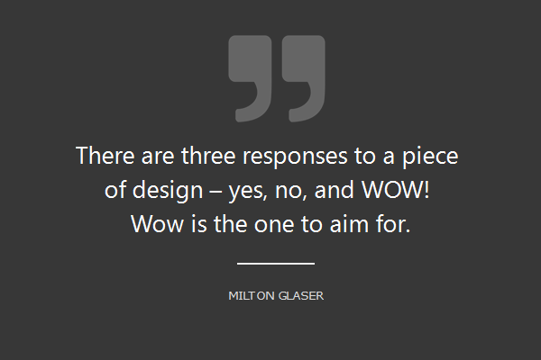 wow experience ux quotes