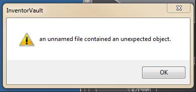 ambigious and unclear error message