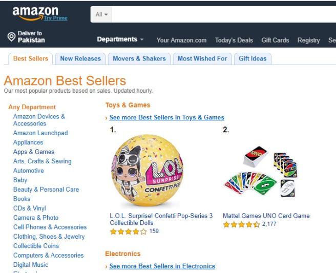 Amazon All Links