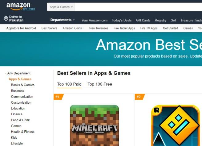 Amazon Few Links