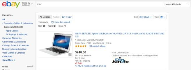ebay save search