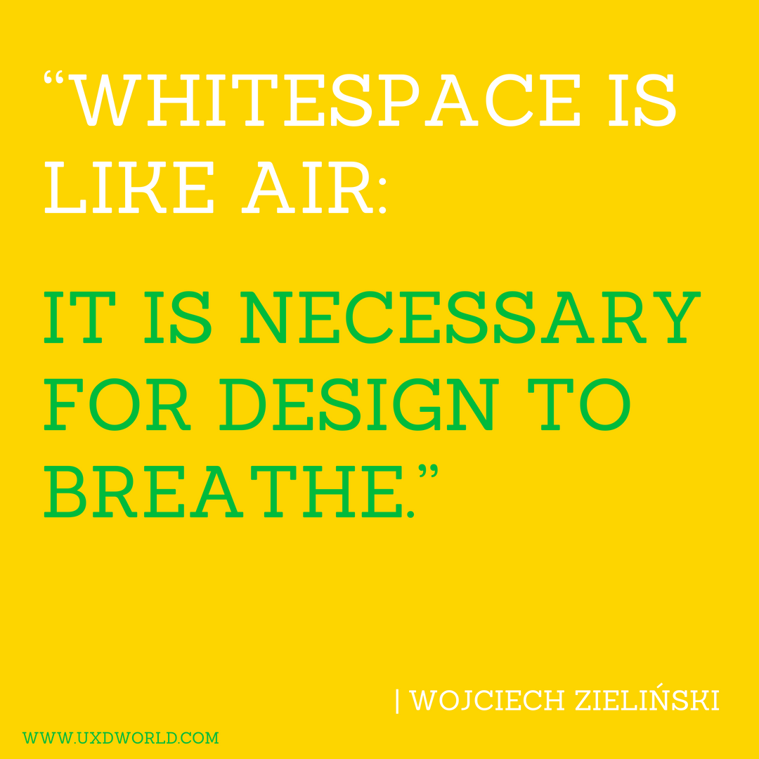 White space in Design