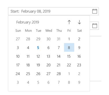 date input 8