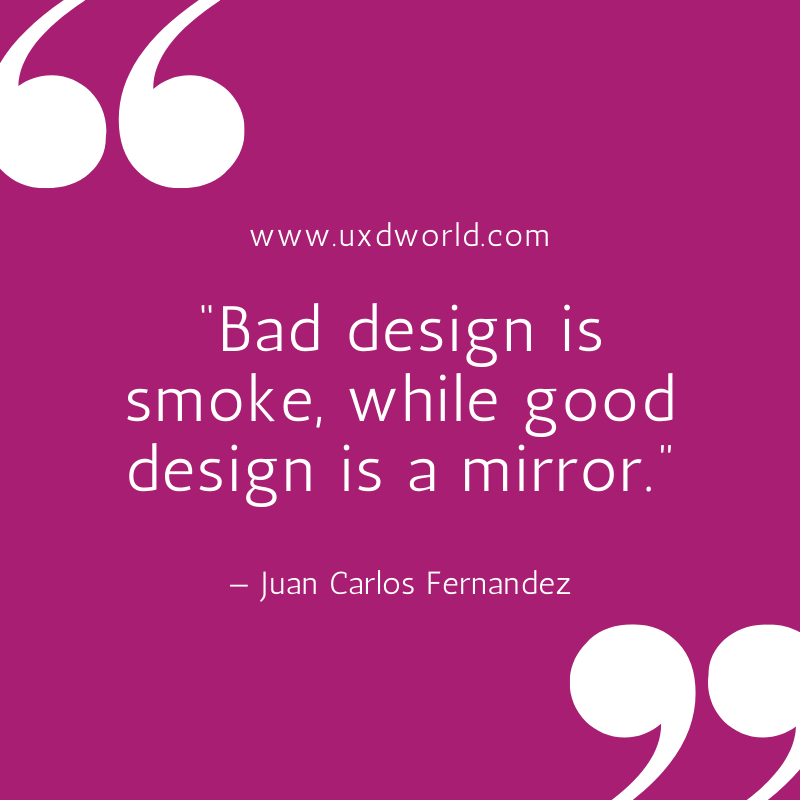 bad design vs good design