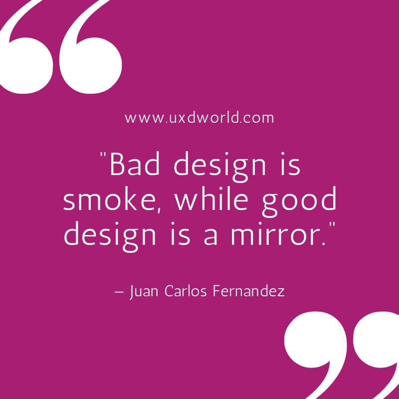 bad design vs good design